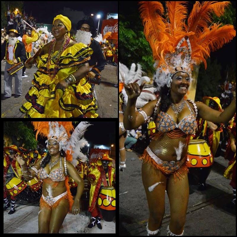 Carnaval. Desfile de Llamadas.Batea de Tacuarí.