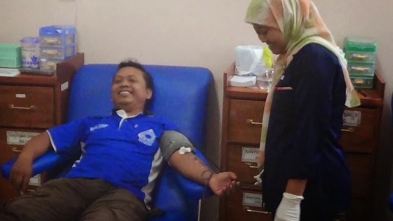 Stok Darah dan Trombosit DI PMI Kota Pekalongan Aman