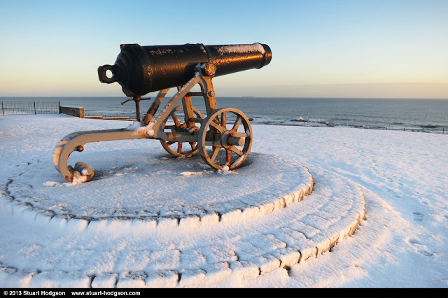 The Sebastopol Cannon - Hartlepool Headland.