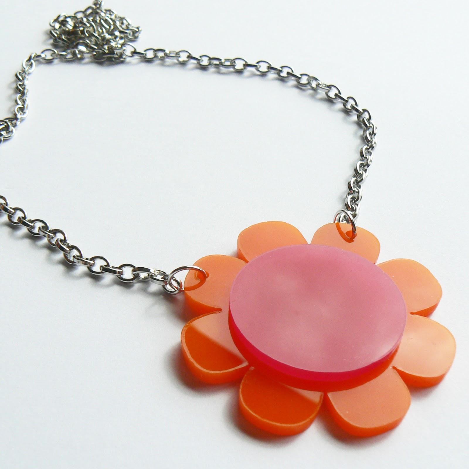 CurlyPops New Funky Flower Jewellery