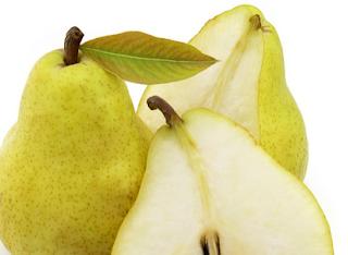 buah pir mengurangi resiko alergi pada anak