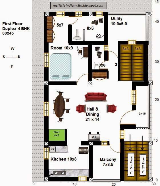 My Little Indian Villa 21 R14 1bhk And 4bhk In 30x45