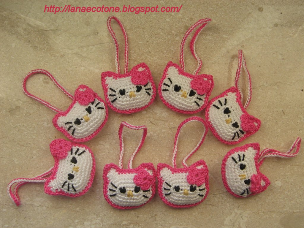 How To Crochet Hello Kitty Bag By Marifu6a Free Pattern Tutorial : Lana e Cotone (maglia e uncinetto): Amigurumi Hello Kitty