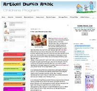 Sharing Ilmu yang berhubungan dengan Artikel Dunia Anak