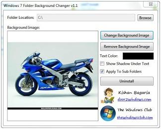 Apabila sukses maka background pada windows explorer , (drive C dan ...