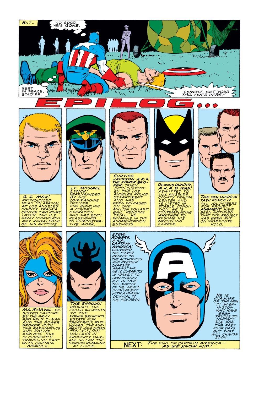 Captain America (1968) Issue #331 #260 - English 23