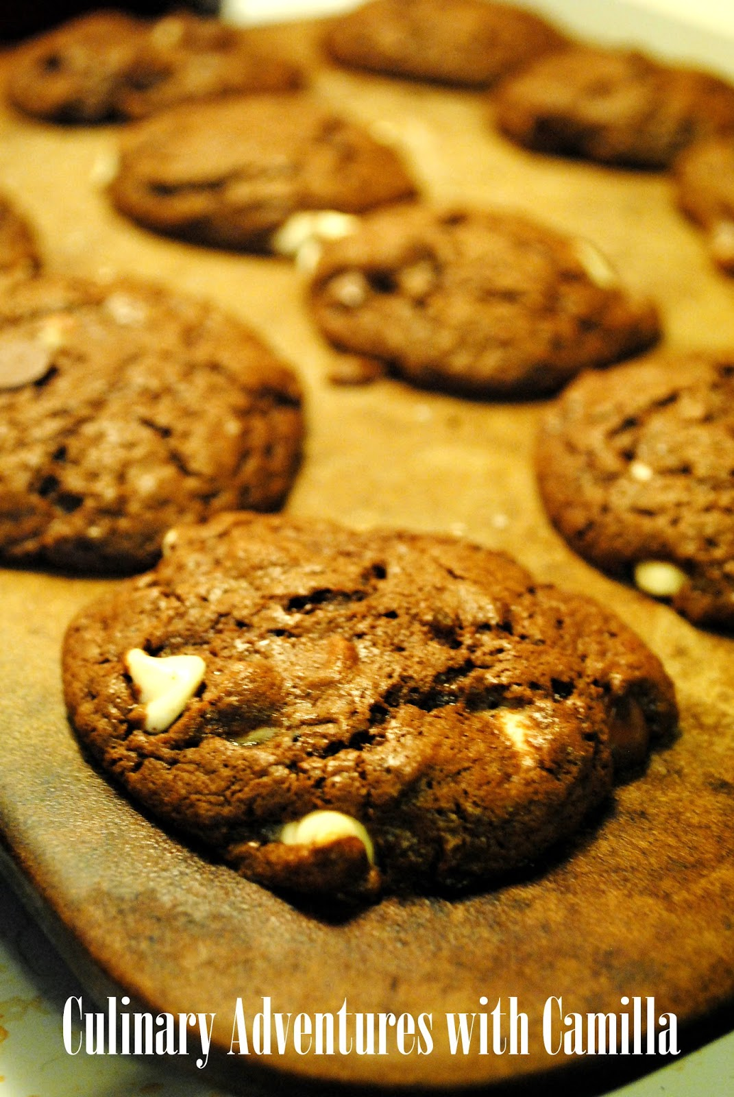 ... with Camilla: Salted Mayan Chocolate Cookies v.1 {#FBCookieSwap