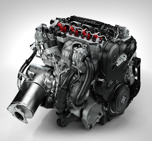 The new Volvo D4 diesel engine