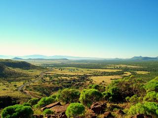 imagen de un hermoso lugar  en africa