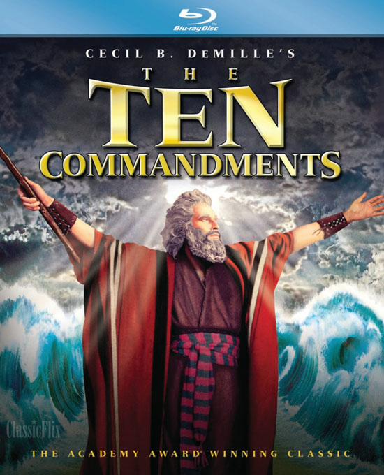 The Ten Commandments (Los Diez Mandamientos)(1956) 1080p BRRip 4GB mkv Dual Audio 5.1 ch