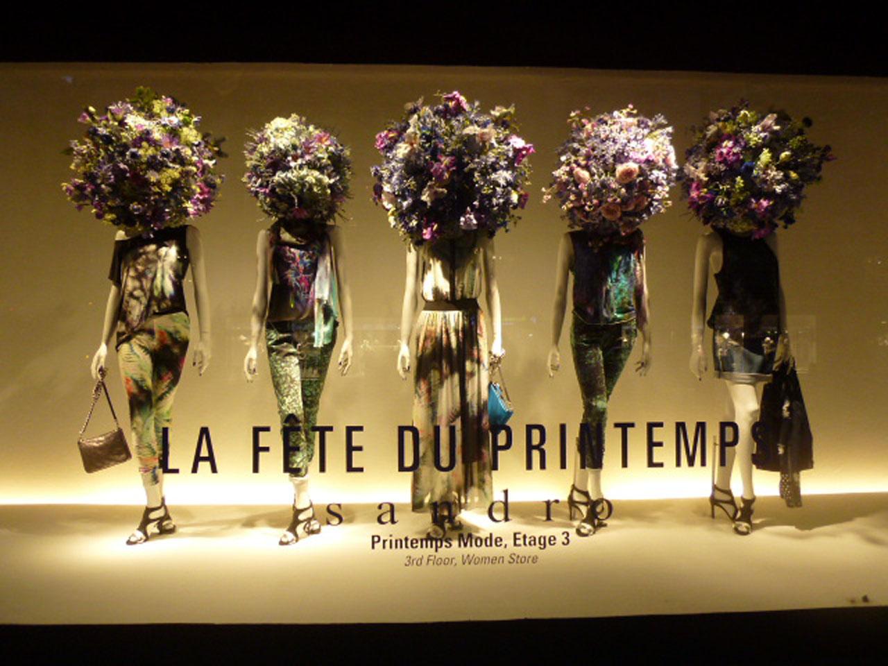 Trendvm Flower Sculptures Printemps Paris