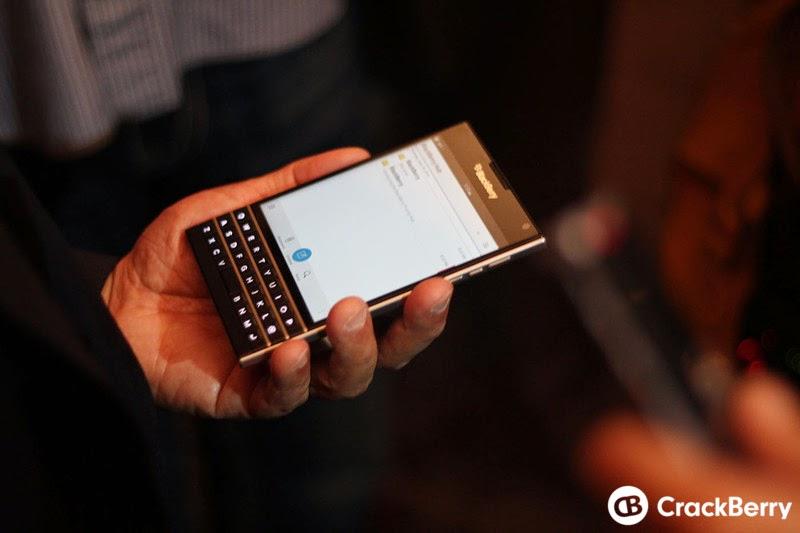 Bàn phím đặc biệt của BlackBerry Passport