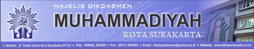 SD Muhammadiyah 20 Surakarta