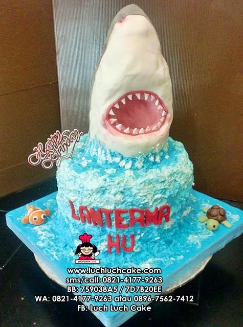 Kue Tart Hiu 3D Daerah Surabaya - Sidoarjo