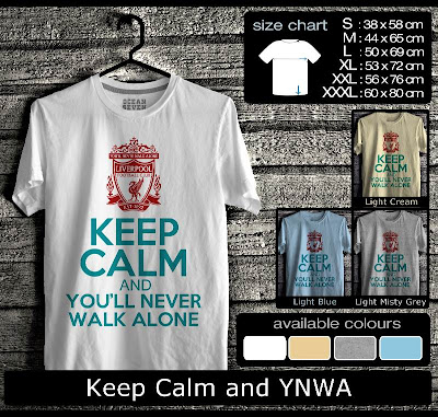 kaos distro keep calm and YNWA