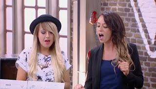 Cassandra De Rosa y Mandy Santos-Batallas La Voz