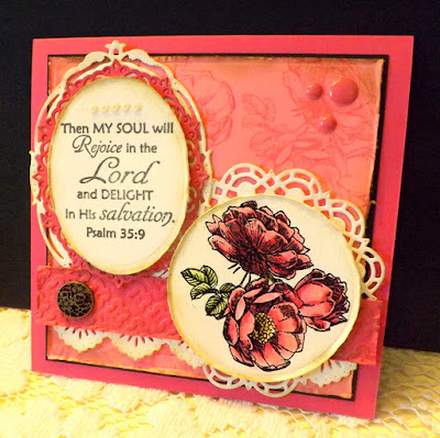 ODBD Fragrance, ODBD Easter Blessings, ODBD Custom Doily Dies, ODBD Custom Beautiful Borders Dies, ODBD Customer Card of the Day by DJ Rants