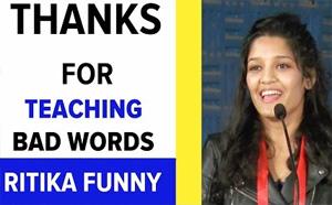 Ritika Funny Speech | Irudhi Sutru Success Meet