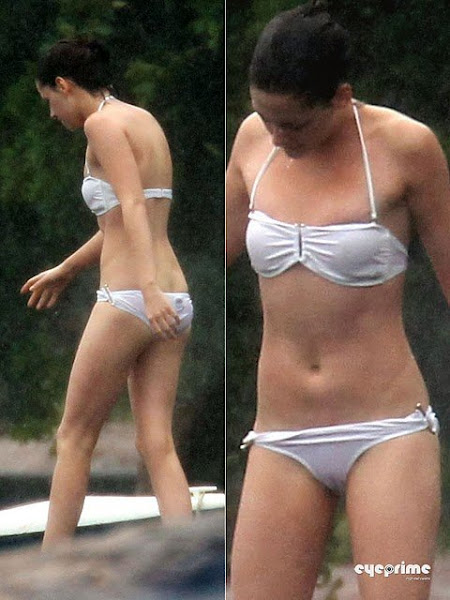 kristen stewart in a bikini on the set of twilight breaking dawn olsen twins news com 480x