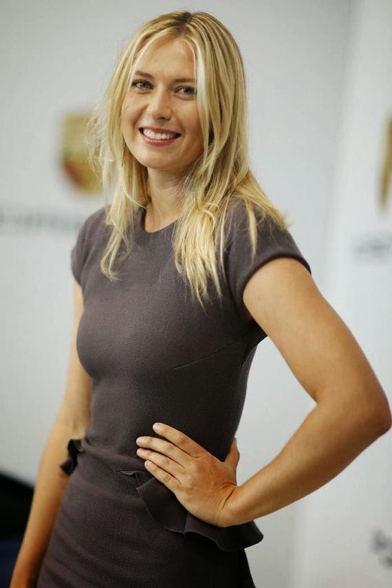 Maria Sharapova's Porsche