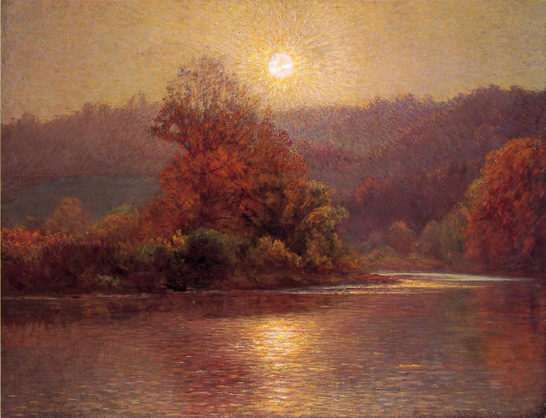 John Ottis Adams Impressionist Painter Tutt Art