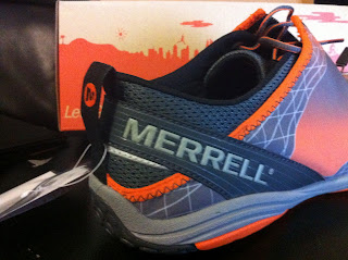 Merrell pulse glove heel