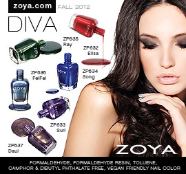 Zoya Nail Polish: NYFW2012 Diva