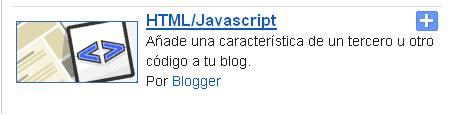 Widget para blogger Menú de Redes Sociales
