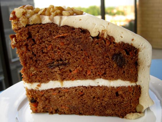 vegan à montréal: gâteau aux carottes des vivres