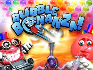 لعبة الفقاعات الملونة Bubble Bonanza