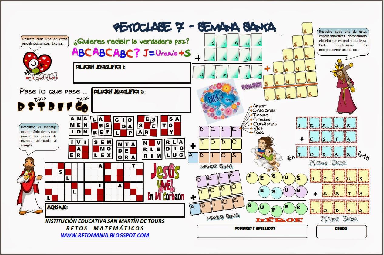 Criptoaritmética, Criptoaritmetica, Alfamética, Alfametica, Criptogramas, Criptosumas, Descubre los números, Los números Ocultos, Retos matemáticos, Desafíos matemáticos, Problemas matemáticos, Jeroglíficos, Jeroglíficos escolares, El mensaje, Descubre el mensaje, El mensaje oculto