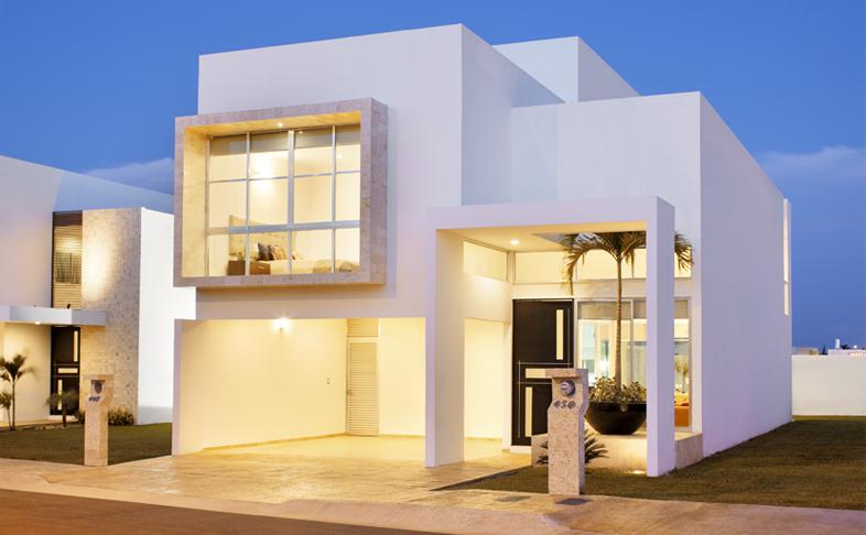 Casas en venta y departamentos casa muestra modelo paris for Departamentos minimalistas fachadas