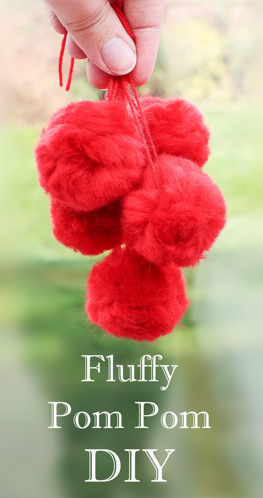 Craft pom poms in bulk - How To Make The Quickest Fluffiest Pom Poms Ever Craft Me Happy How To Make The Quickest Fluffiest Pom Poms Ever