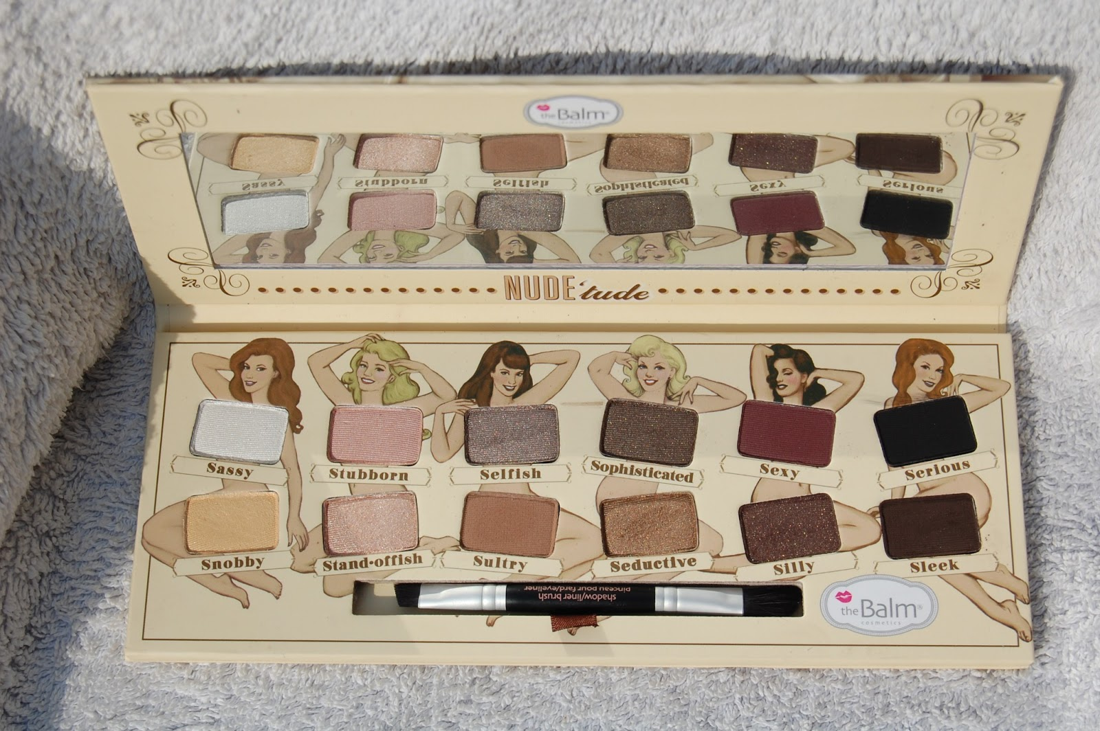 theBalm Nude tude Eyeshadow Palette: Review and Swatches