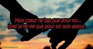 Texte d'amour tu me manque mon amour
