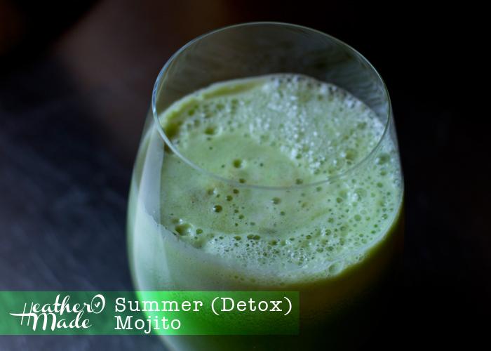 summer detox mojito
