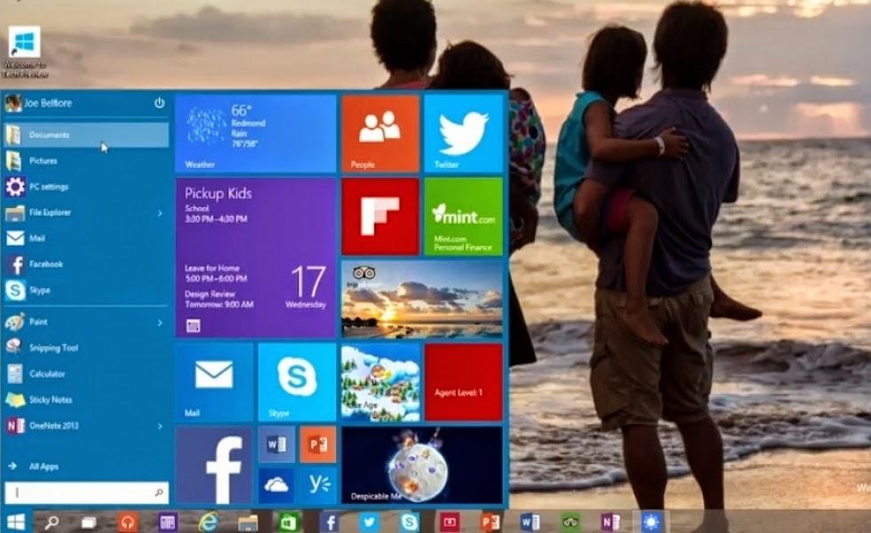 A Microsoft apresentou em São Francisco, Califórnia, a próxima geração de seu sistema operacional, que deverá sair à venda no meio do ano que vem com o nome Windows 10 e não Windows 9, como estava sendo especulado