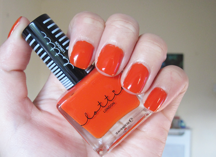 Lottie London Sunset Secrets swatch & review
