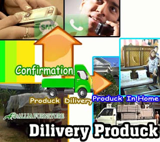 Dilivery Produk Mebel Allia Furniture