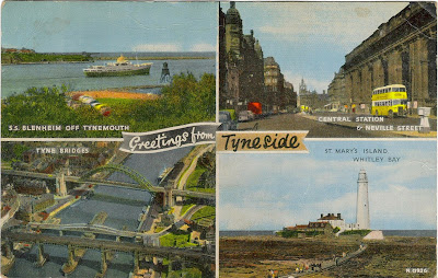 1960s Edinburgh Scotland Postcard