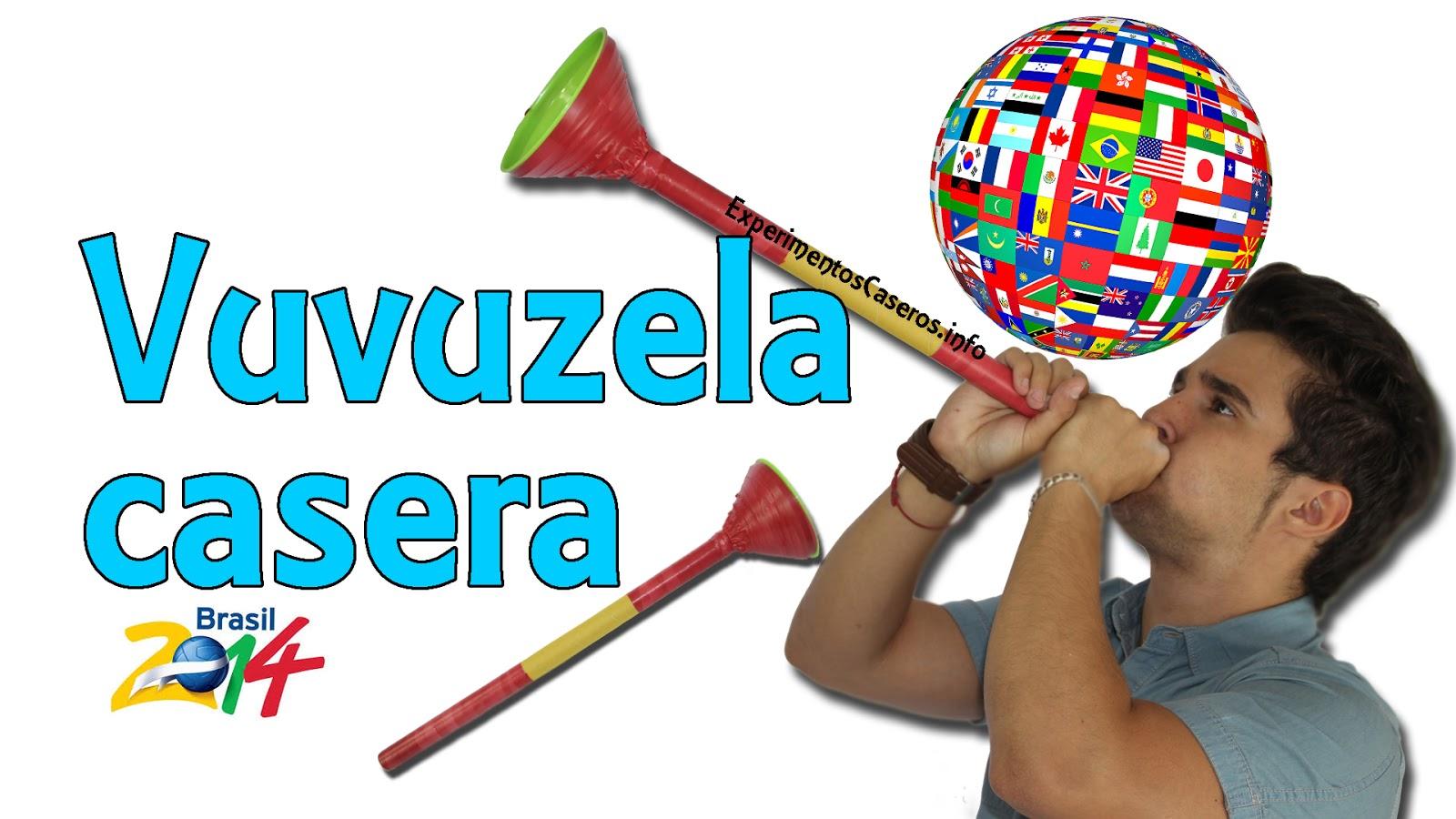 Vuvuzela Casera para el Mundial de Brasil 2014, experimentos caseros, vuvuzela casera, vuvucela casera, mundial, mundial brasil, mundial brasil 2014, brasil 2014, experimento, experimentos, inventos caseros, inventos sencillos, inventos para niños, experimentos para niños, experimentos fáciles, inventos fáciles