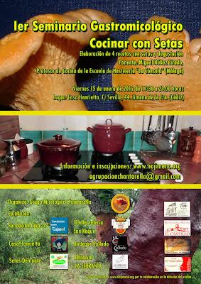 El blog chisparrero chantarella organiza en jimena el i - Como cocinar setas ...