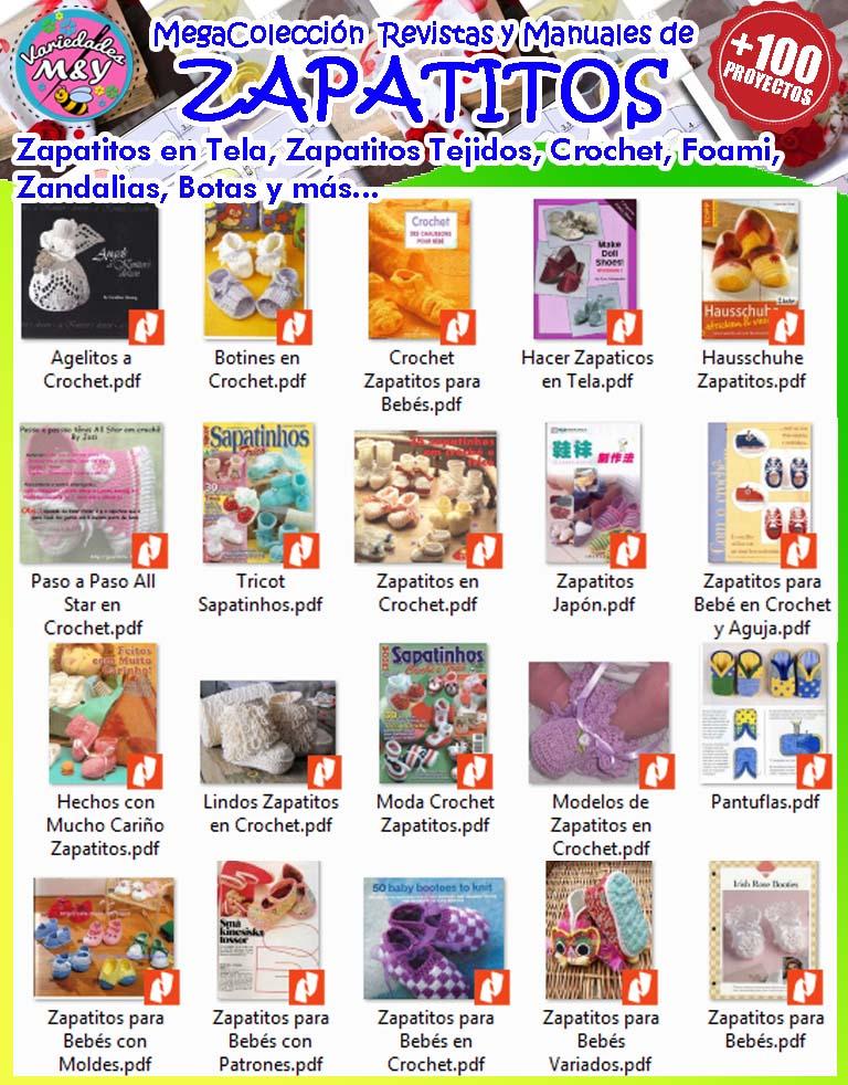 MegaColección Zapatitos para Bebé | Variedades M&Y