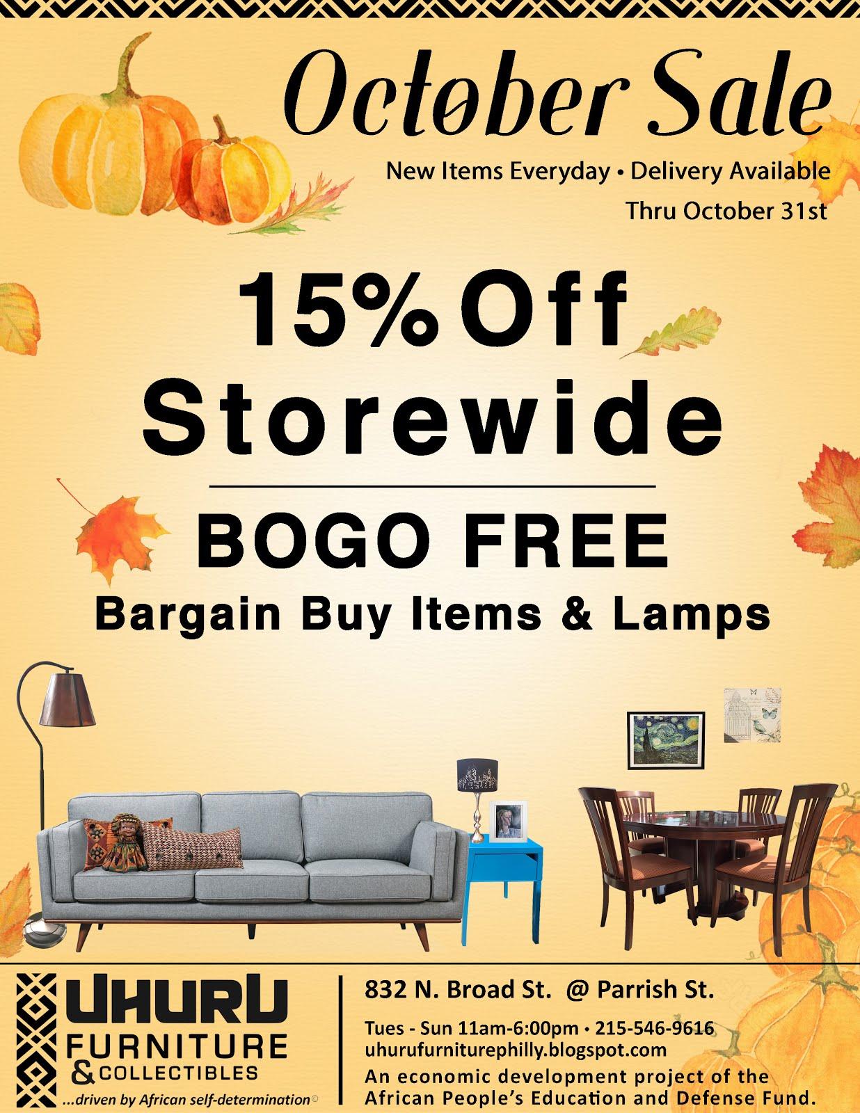 October Sale!