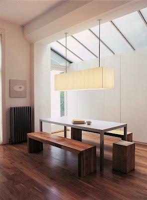 Desain Ruang Makan Dengan Bangku 6