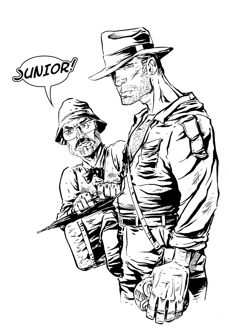 indiana jones 4 coloring pages - photo#30