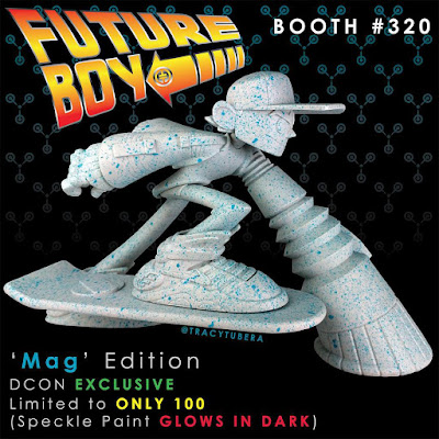 Designer Con 2015 Exclusive Back to the Future MAG Edition Future Boy Resin Figure by Tracy Tubera