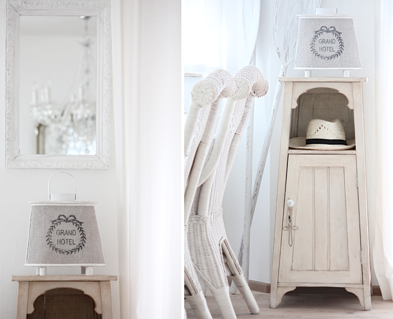 White And Shabby Seaside Feeling