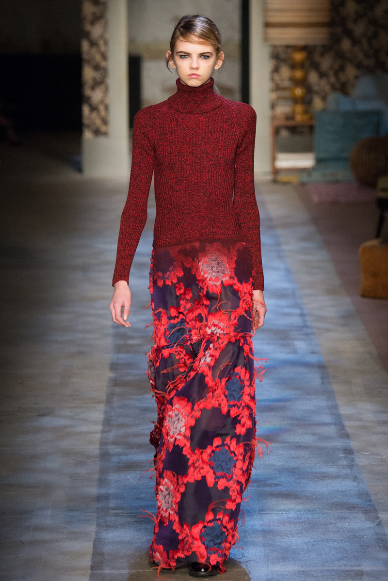Best looks from London fashion week 2015 / Erdem