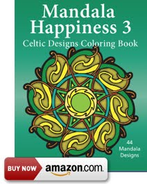 Mandala Happiness 3, Celtic Designs